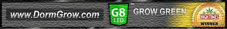 The award winning G8LED full spectrum grow lights from Dorm Grow have steadily progressed over the past eight years to become the most innovative and technologically advanced grow light systems available on the market today.