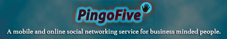 PingoFive is a mobile and online social networking service for business minded people who want to improve their relationship and connect with other people that have great ideas to share. If you want to engage in more positive networking for your business, this is a great place to start. You can get connected with like minded people that share the same interests as you do and brainstorm forward from there.